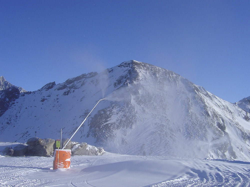 Perfect for the entry in to the low-cost snowmaking