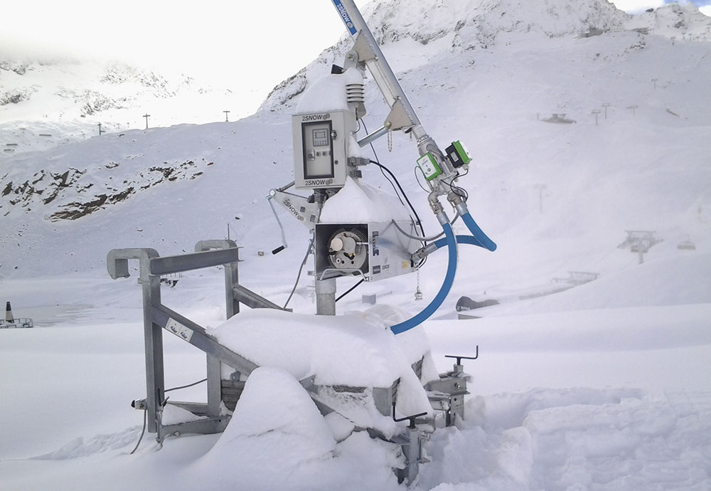 Vollautomatik BTT - Control system for Bächler snowmakers